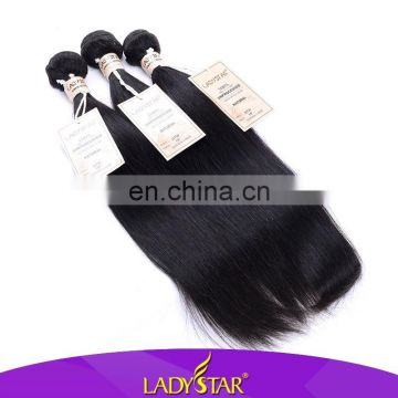 Wholesale price ladystar skilky straight peruvian hair all size 100 human hair, hot selling peruvian hair