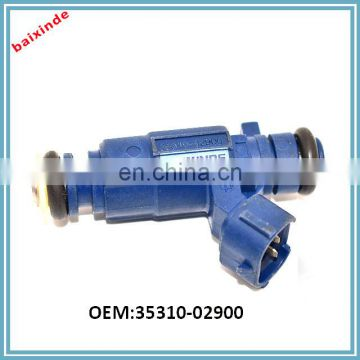 Engine Components OEM 35310-02900 9260930017 Petrol Fuel Injector Design for Hyundai Atos i10 KIAs Picando 1.1