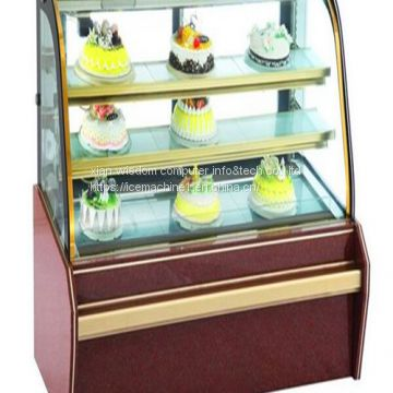 For Croissants Cakes Food Display Cabinet Quiet Energy-saving
