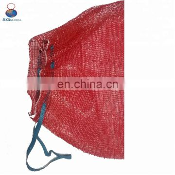 Customized all sizes Wholesale Red Onion Mesh Bags