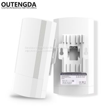 5GHz Outdoor CPE Elevator Wireless Bridge 1-2KM Range 450Mbps AP Router Access Point WIFI Repeater Extender Support WDS PoE
