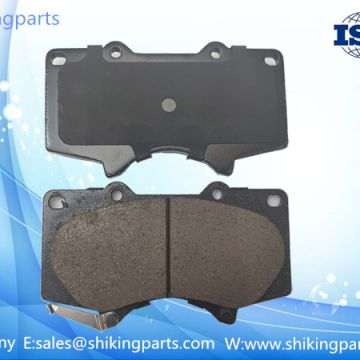 D976 performance brake pad for Italy,high quality ceramic lining,service life:80K kilometers