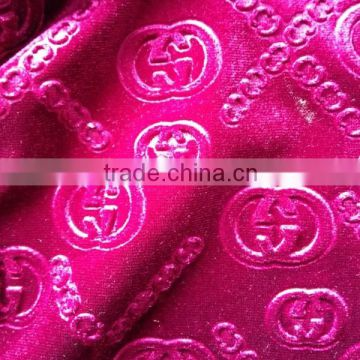 2015 Factory Spandex Fashion Women Dress Fabric Pakistani Dresses Embossed Fabric For Women Dress Suits