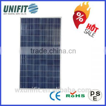 200-250W polycrystalline photovoltaic solar panels with solar panel manufacturing machines