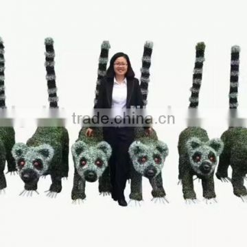 life size large top party artificial landscape uv resin plastic animal leaf alphabet letter Liberty bear statue E08 23R1