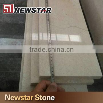Polished Cream Marfil Marble Stair Tread,marble Staircase ...