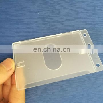 Hard plastic rigid slide credit card protector