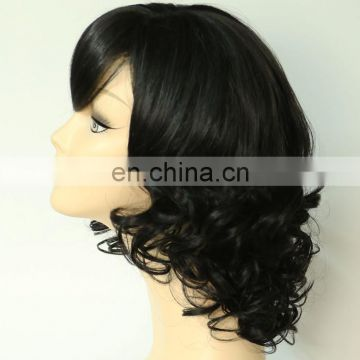 natural black curly hair wig china best box braid wig wholesale