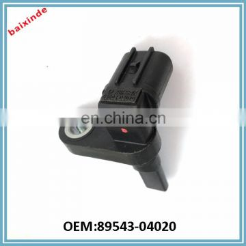 BAIXINDE Factory made ABS wheel speed sensor OEM 89543-04020 LEXUS