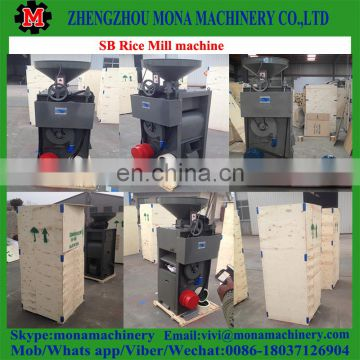 SB combined rice husk peeling machine/rice mill machine/rice polishing machine in Nigeria