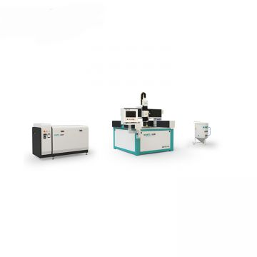 cnc metal water jet cut machine with intensifier pump