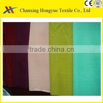 Huzhou Manufacturer Microfiber Polyester brushed solid color fabric as pantone colors for bed sheet fabric