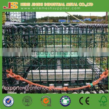 Factory Supply Yellow Color Aquaculture Traps, Crab Trap, Net Trap for Lobster