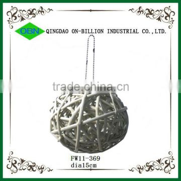 Festival large decorative wicker ball