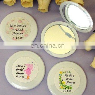 Personalized Bridal Shower Mirror Compact Favors