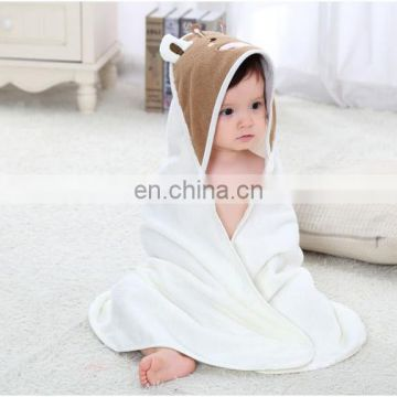 Wholesale Super Soft 100% cotton Baby Hooded Towel
