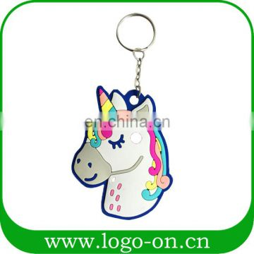 Rainbow Unicorn Party Favor Keychain Customer Design Available