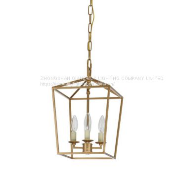 America style country Pendant Light & iron pendant lamp used for home and villa 66092