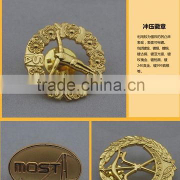 2015 Factory direct sales OEM design metal pins badge Attractive High Quality belt buckle