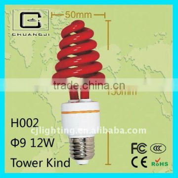 H002 super brightness high quality colorful fluorescent light fixture parts