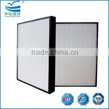 Ultra high efficiency HEPA/ULPA air filters