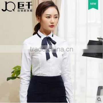 cb8ed0a131c349 China shirt manufacturer office lady formal shirt for girls model blouse  for uniform women shirt of Business Suit for Lady from China Suppliers -  144874214