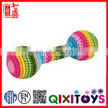 alibaba good quality crochet toy handmade baby toy