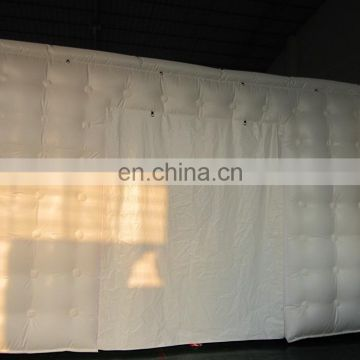 Stitch white pvc cover inflatable tent, white inflatable dome tent, white inflatable tent