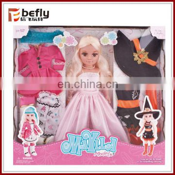 Wholesale dress up game doll clothes on alibaba