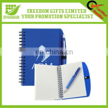 Logo Customized Promotional Pen Pal Notebook
