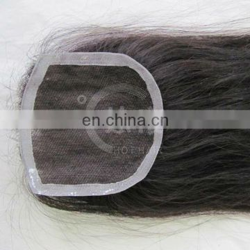 Black In Cheap body wave lace silk top brazilian lace front closure piece