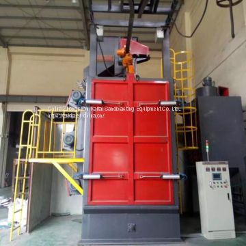 Hook shot blasting machine,Single hook or double hook can be selected.