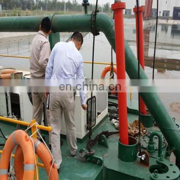 550m3/h hydraulic cutter suction dredger with depth 6m