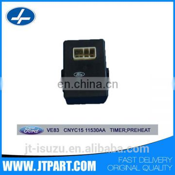 Genuine Part 12v glow plug timer Relay CNYC15 11530AA for Transit VE83