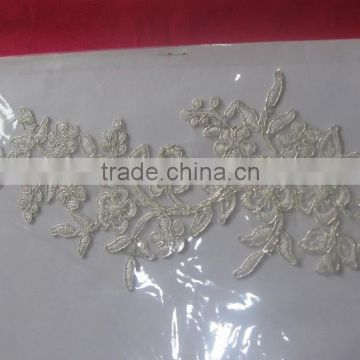 2015 High Quality Lace Flower Bridal Wholesale /lace border/new design