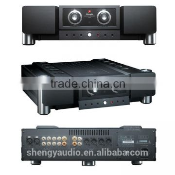 China Wholesale Home Audio, Video & Accessories Price Personal Black High Power Amplifier Kit Tube Stereo Preamplifier