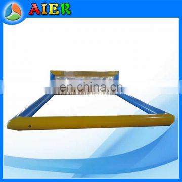 11x4.5m High Quality Inflatable Volleyball For Water Park