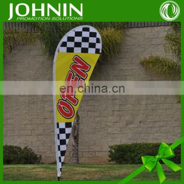Factory Direct Printing Outdoor Flutter Advertising Flag