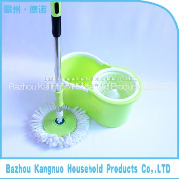 Hot sales Easy Wring Spin Mop and Bucket System with 2 Mop Heads for cleaning