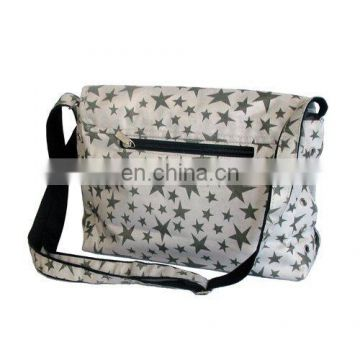 novelty ladies handle bag with long shoulder strap in high quality