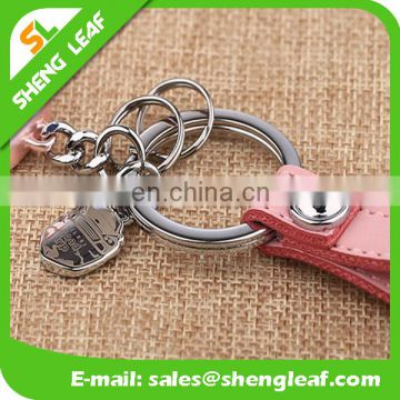 Wholesale colorful car shaped metal keychain