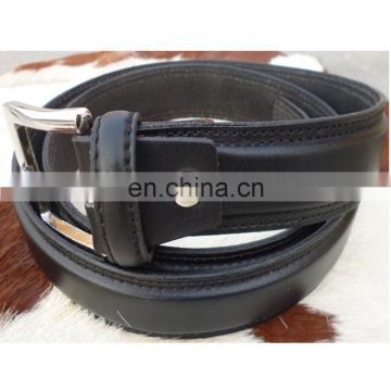 6d15f956122 Black color Genuine Leather Belt with Gold Buckle Mens Belts 2018 of Leather  accessories from China Suppliers - 158610792