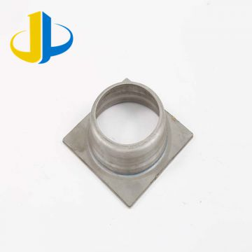 Iso9001 Metal Machined Parts Gold Plated  Aluminum