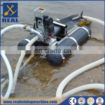 Mini portable gold dredger underwater mining equipment