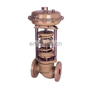 self-operated high pressure drop temperature control valve