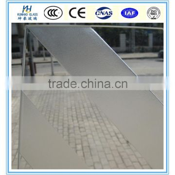12mm Frosting Tempered Partition Door Price Per Square Foot Frosting