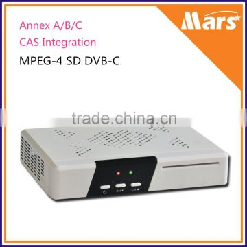 Mstar MSD 5019 Digital Cable Receiver SD MPEG4 DVB C Set Top Box , Quality  Choice