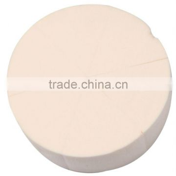 round soft latex free sponge