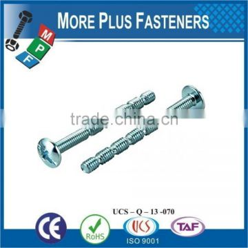 Made In Taiwan Break Off Machine Screw Funnel Head Hi Lo Thread Insex Screw