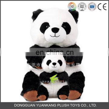 Wholesale Black and White Panda Teddy Bear Doll Soft Panda Plush Toy